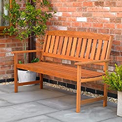 Kingfisher Garden Bench - Includes shipping to the Channel Islands