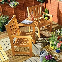 Companion Garden Bench - Shipping to Guernsey & Jersey