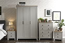 The Furniture Warehouse - Wardrobe & Bedside Cabinets - Shipped to the Channel Islands