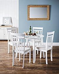 White Dining Table - Julian Bowen